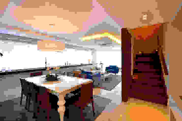 Bela Vista 01 Salas de jantar modernas por Juliana Baumhardt Arquitetura Moderno