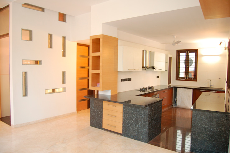 Kitchen by Muraliarchitects, Modern