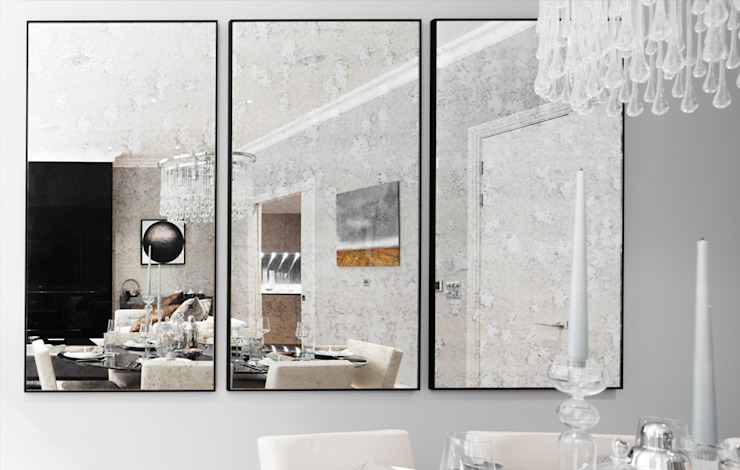 Leman Street Salas de jantar modernas por The Manser Practice Architects + Designers Moderno