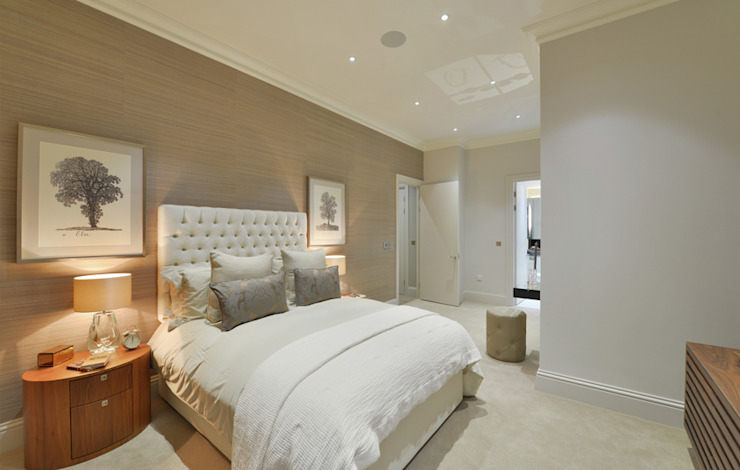 Leman Street Modern style bedroom by The Manser Practice Architects + Designers Modern