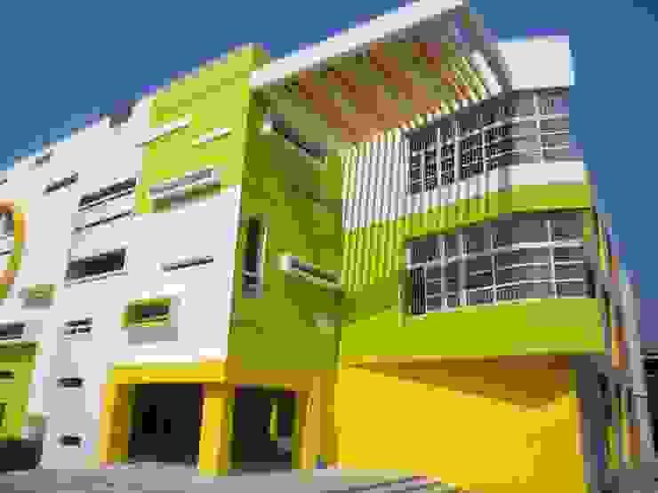 VISHWAKSENA VIDYA VIKAS SCHOOL Modern schools by Muraliarchitects Modern