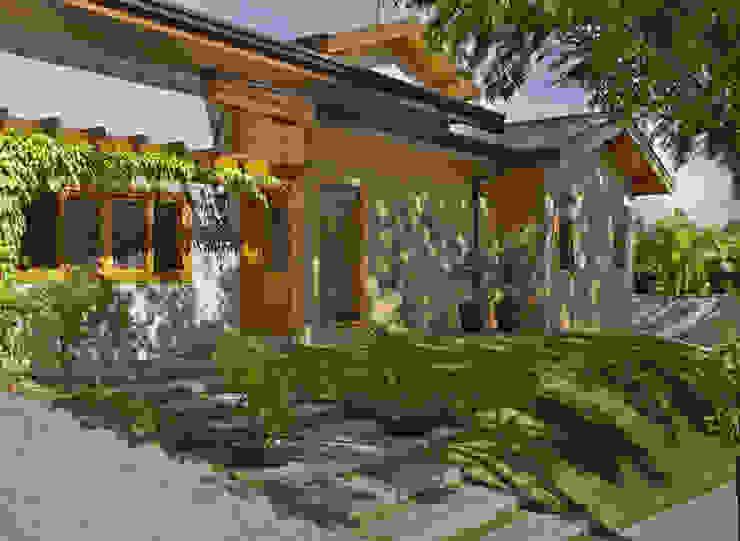 Casas de estilo rústico de Cria Arquitetura Rústico