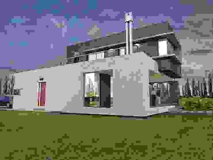 Maisons modernes par Chazarreta-Tohus-Almendra Moderne