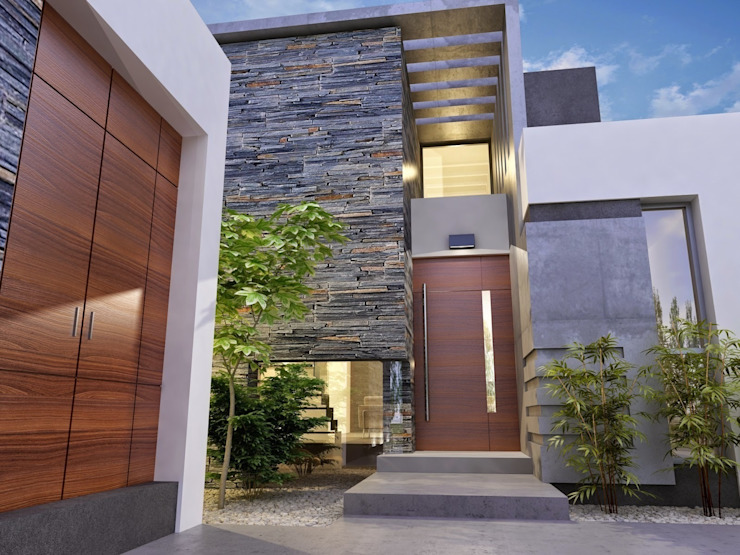 Casas de estilo  por Chazarreta-Tohus-Almendra,