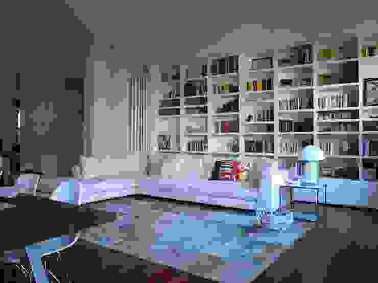Appartamento a Milano Soggiorno moderno di Karin Künzli Moderno