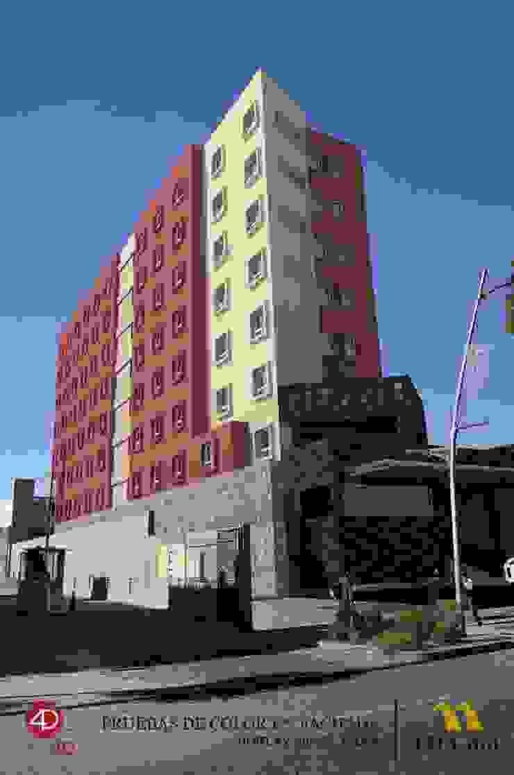 Hotel Loa Inn Av. Juarez Hoteles de estilo moderno de Laboratorio 4D SA de CV Moderno