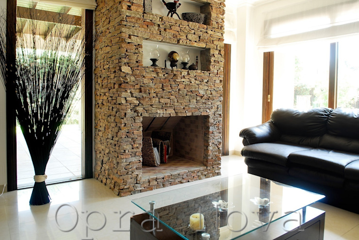 Salas de estar modernas por Opra Nova - Arquitectos - Buenos Aires - Zona Oeste Moderno