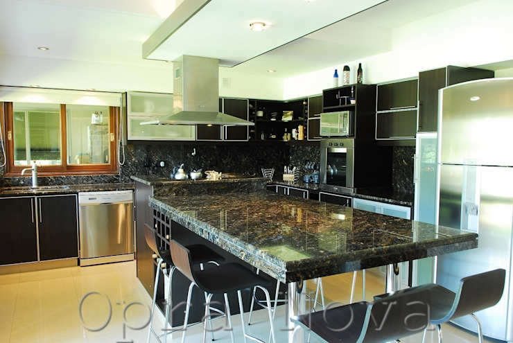 Кухни в . Автор – Opra Nova - Arquitectos - Buenos Aires - Zona Oeste,