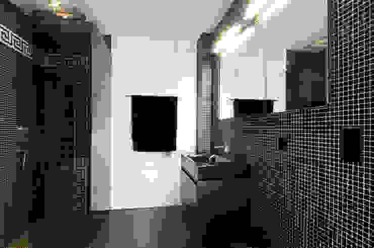 Einfamilienhaus im Schweizer Mittelland Moderne Badezimmer von Unica Architektur AG Modern