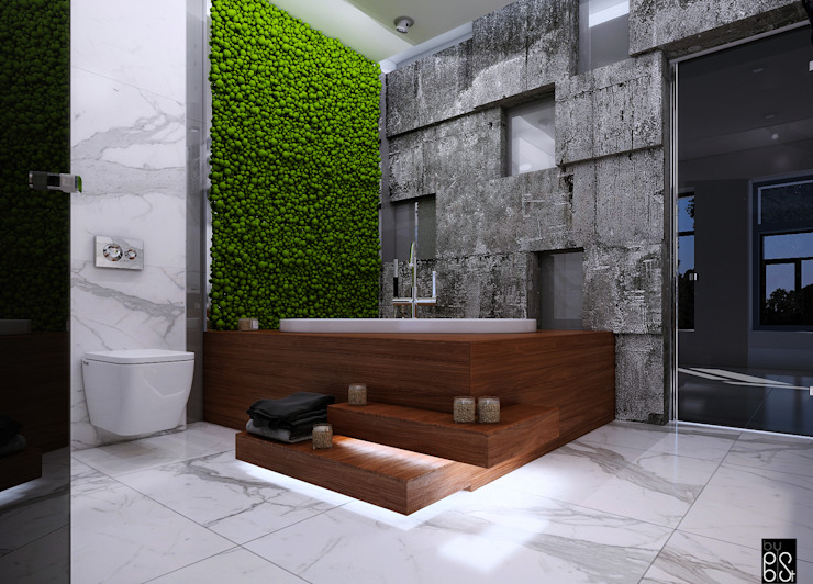 Minimalist bathroom by homify Minimalist
