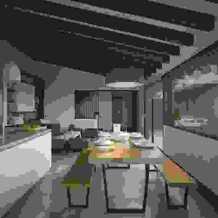 Moderne eetkamers van ARstudio Modern