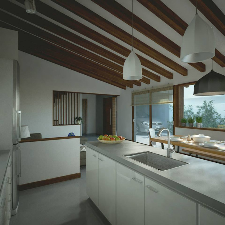 Modern Kitchen by ARstudio Modern