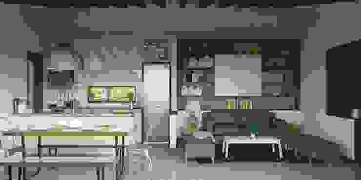 Salas / recibidores de estilo  por ARstudio