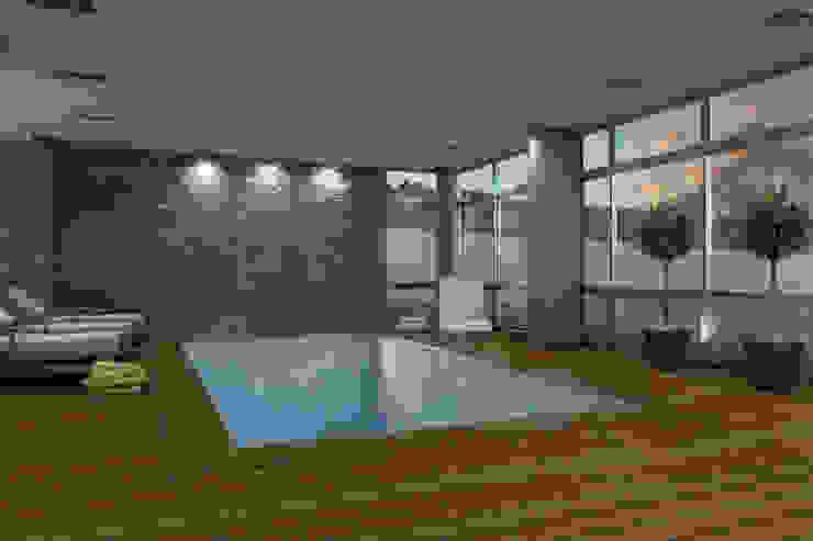 Renders interiores Piletas modernas: Ideas, imágenes y decoración de Entretrazos Moderno