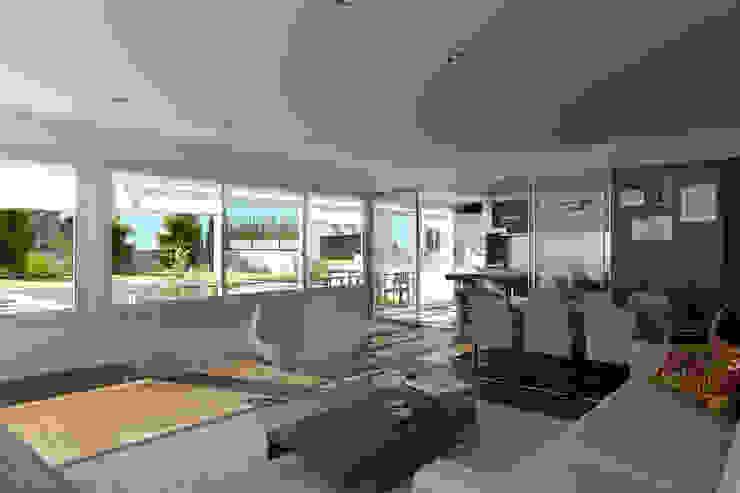 Renders interiores Livings modernos: Ideas, imágenes y decoración de Entretrazos Moderno