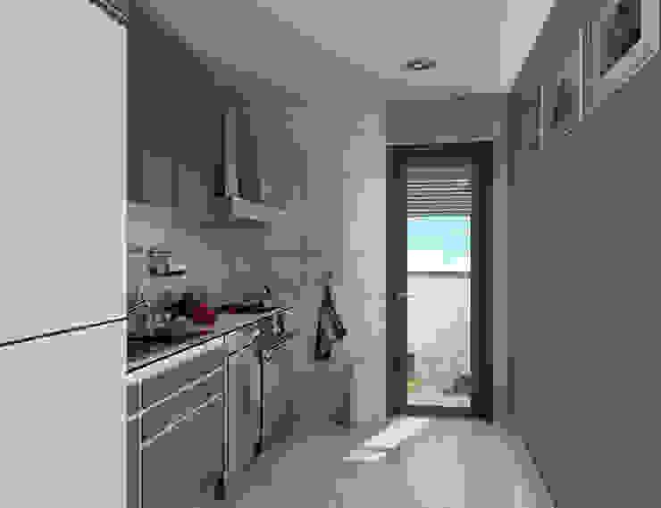 Renders interiores Entretrazos Cocinas modernas: Ideas, imágenes y decoración