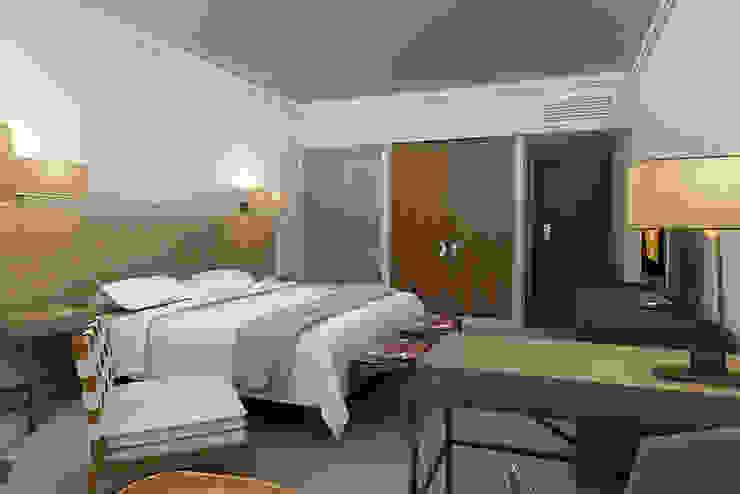 Dormitorios modernos de Entretrazos Moderno