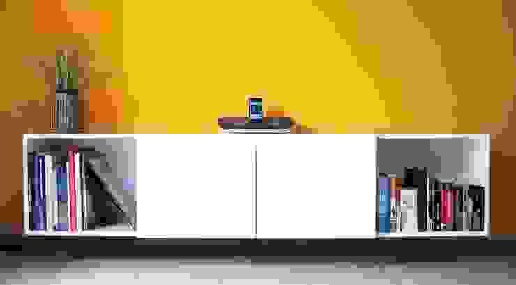 Proyectos de interiores varios Livings modernos: Ideas, imágenes y decoración de ZYX estudio Moderno
