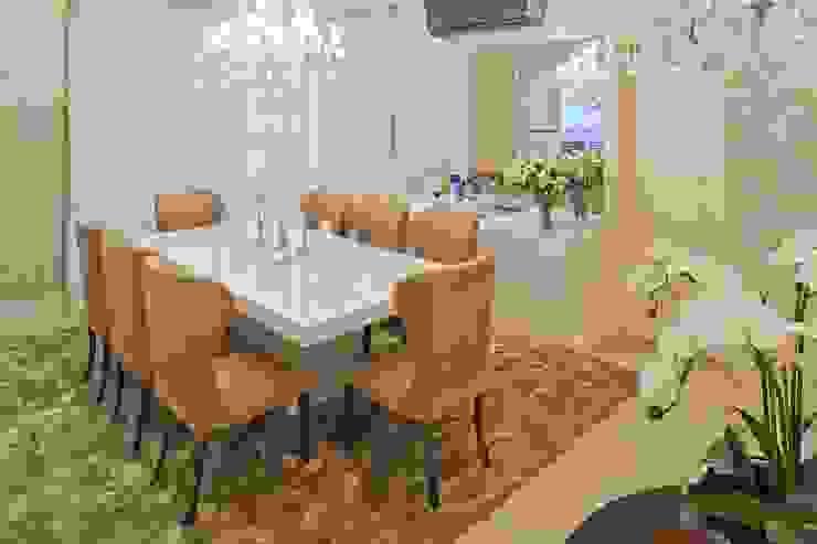 Clássico ao Luxo Salas de jantar clássicas por Mariane e Marilda Baptista - Arquitetura & Interiores Clássico