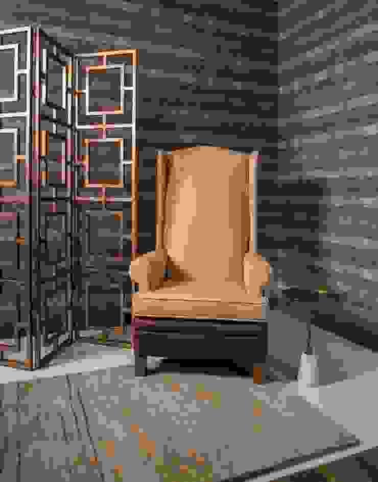 UNUO Interiorismo Corridor, hallway & stairsSeating
