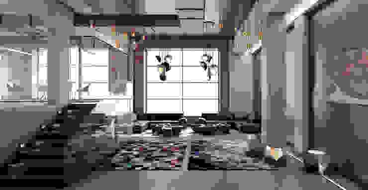 Офис продаж \ Шоурум Офисные помещения в стиле лофт от AFTER SPACE Лофт