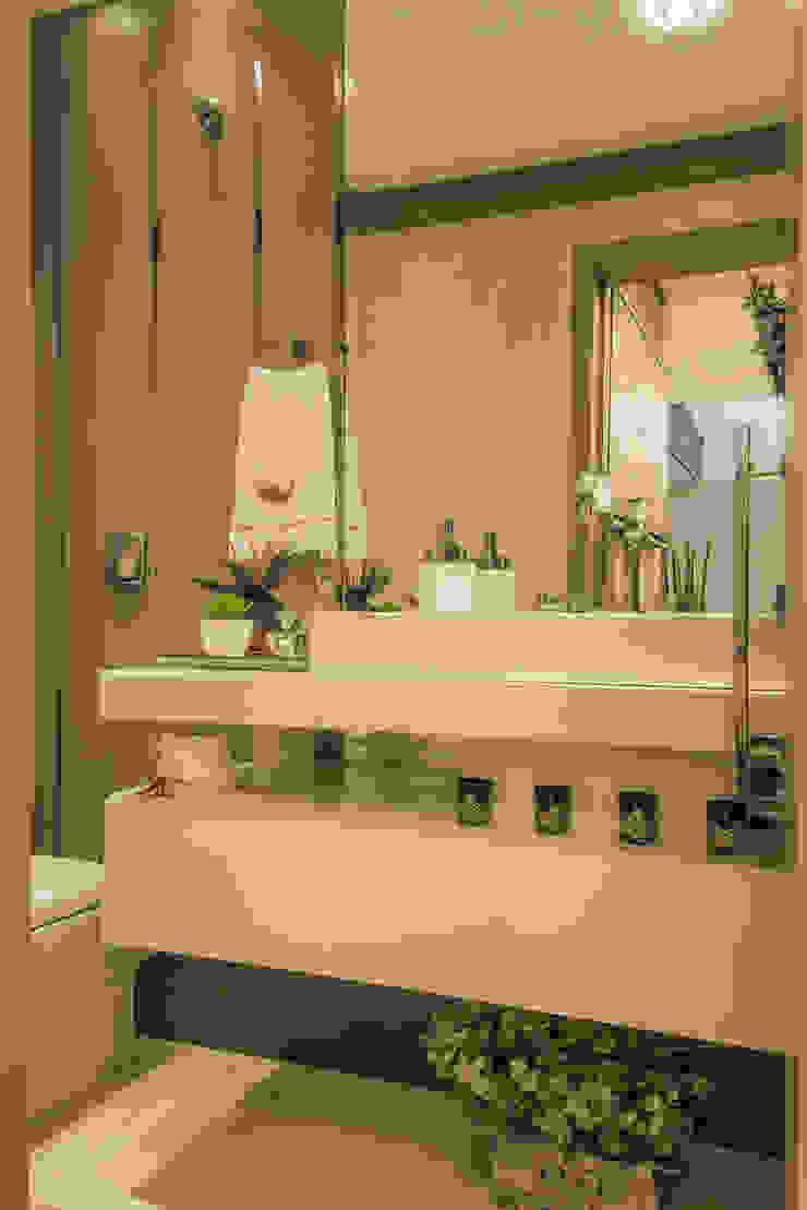 Lavabo Banheiros modernos por Élcio Bianchini Projetos Moderno