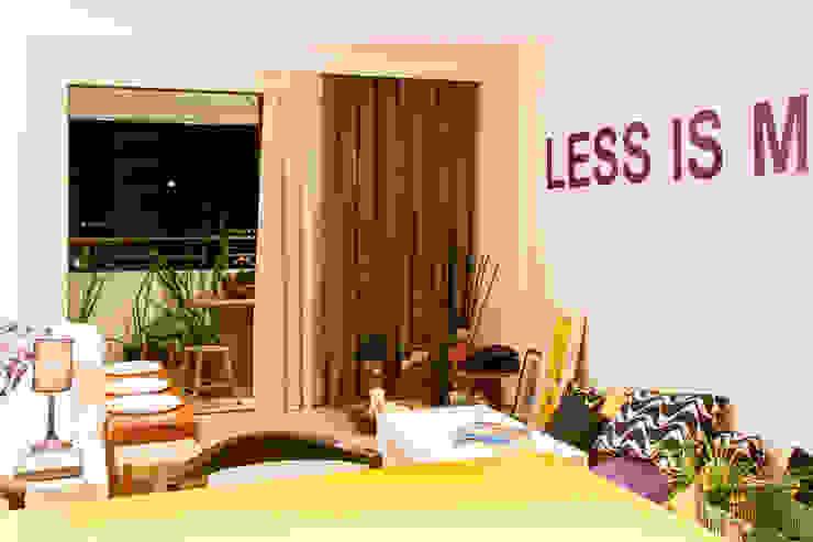 KP 1401 Salas de estar modernas por POCHE ARQUITETURA Moderno