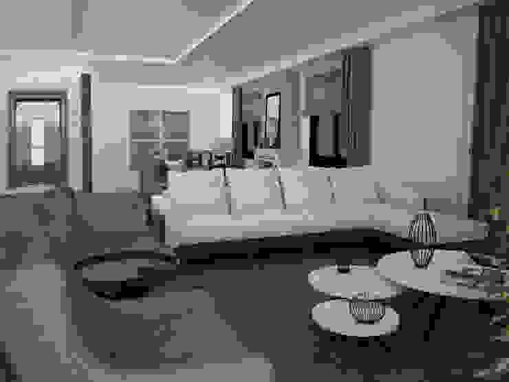 CANSEL BOZKURT  interior architect – Çatı katı : modern tarz , Modern