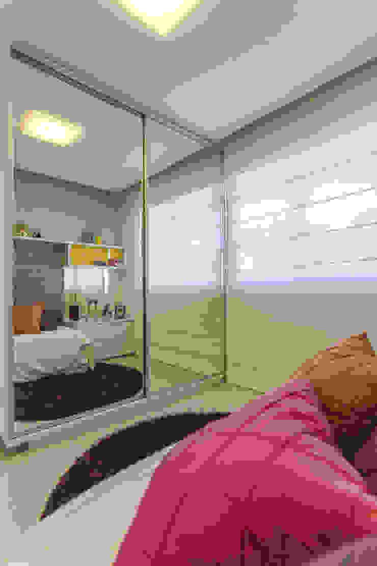 Condominio Laffite Quartos modernos por POCHE ARQUITETURA Moderno