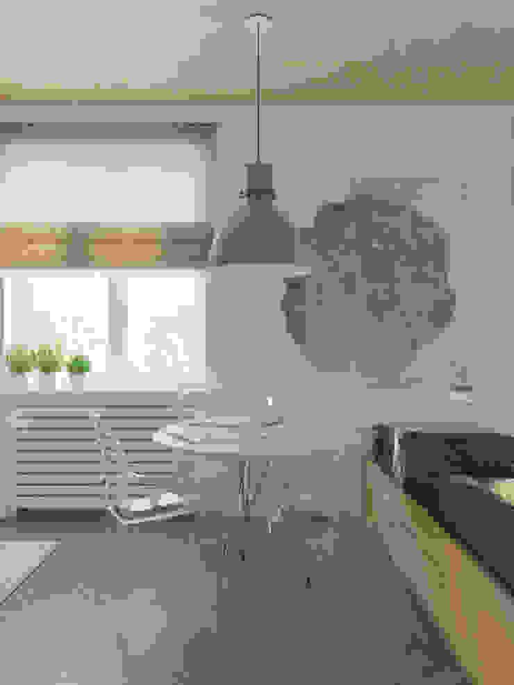 Salas de jantar ecléticas por Anton Medvedev Interiors Eclético