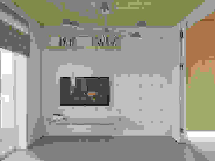 Salas de estar ecléticas por Anton Medvedev Interiors Eclético