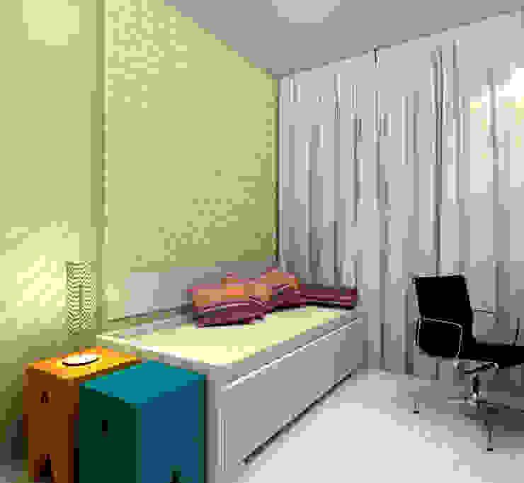 모던스타일 침실 by Konverto Interiores + Arquitetura 모던