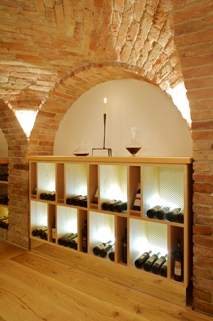 Weinregale Homify