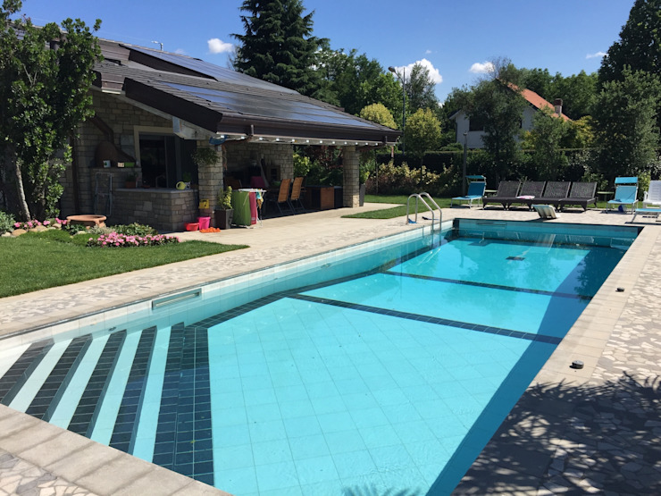 Edil One Bergamo srl Moderne Pools