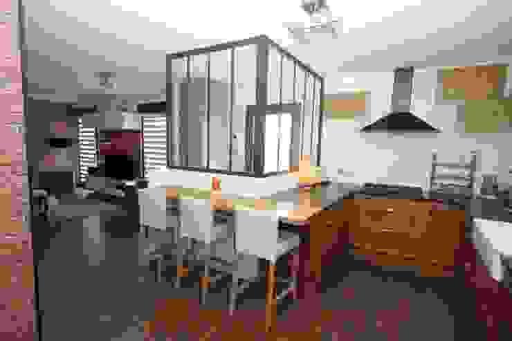 Kitchen by Agence C+design - Claire Bausmayer, Industrial