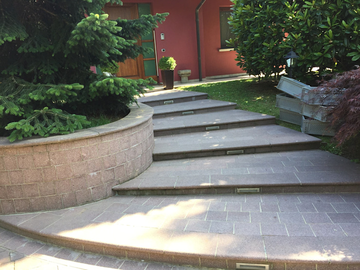 Edil One Bergamo srl Rustic style houses