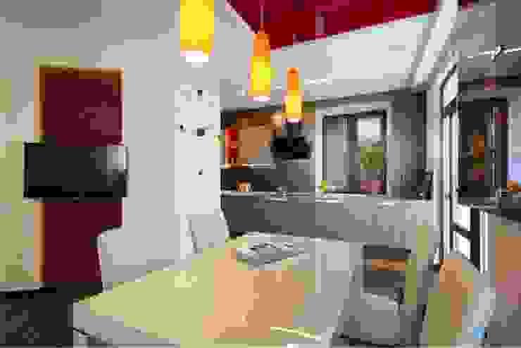 Вид на кухню. от Студия дизайна Ирины Комиссаровой Эклектичный