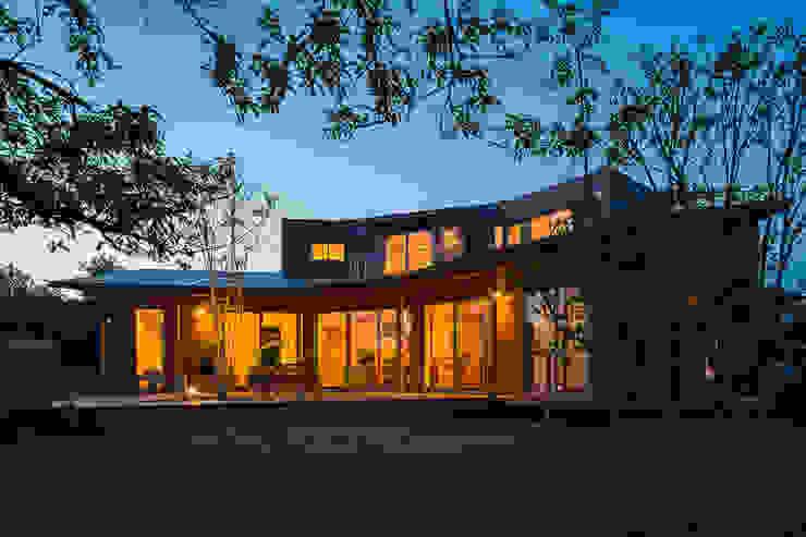 緑苑の家 オリジナルな 家 の 梶浦博昭環境建築設計事務所 オリジナル