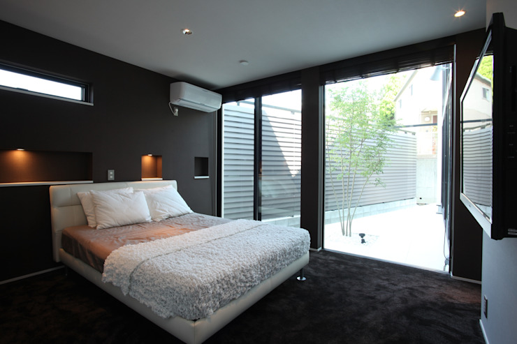 Modern style bedroom by TERAJIMA ARCHITECTS Modern