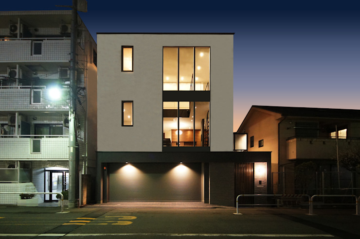 Houses by TERAJIMA ARCHITECTS, Modern
