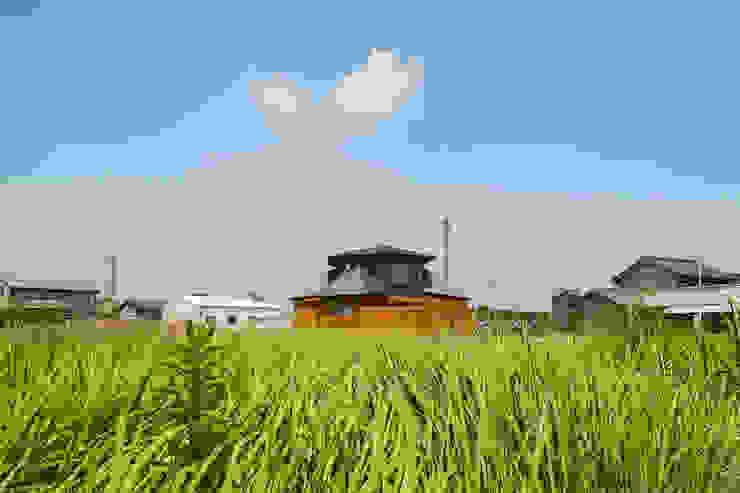 開花の家 オリジナルな 家 の 梶浦博昭環境建築設計事務所 オリジナル