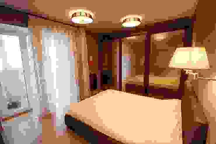 Спальня.:  в современный. Автор – Студия дизайна Ирины Комиссаровой, Модерн