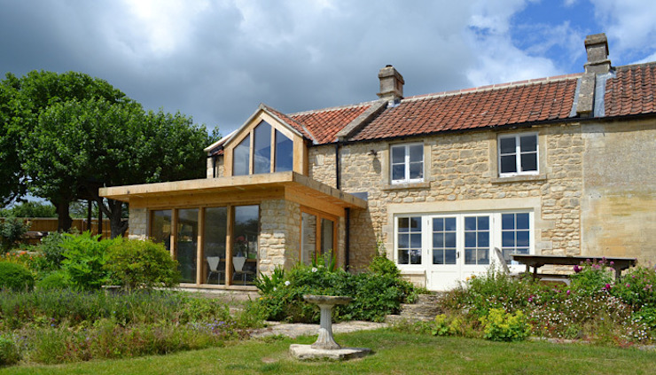 Garden room and gable extension Modern houses by homify Modern