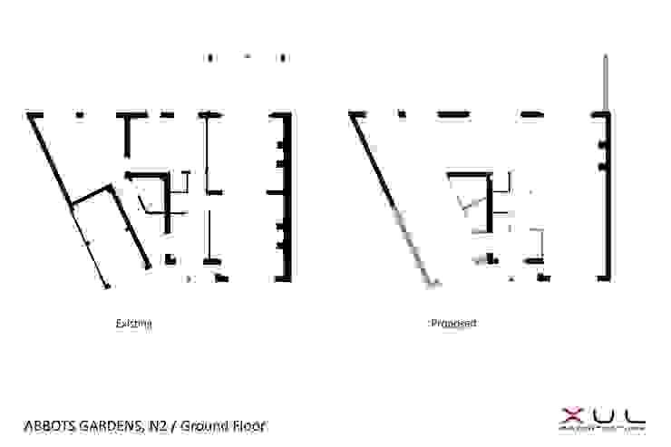 Abbots Gardens, N2: modern  by XUL Architecture, Modern