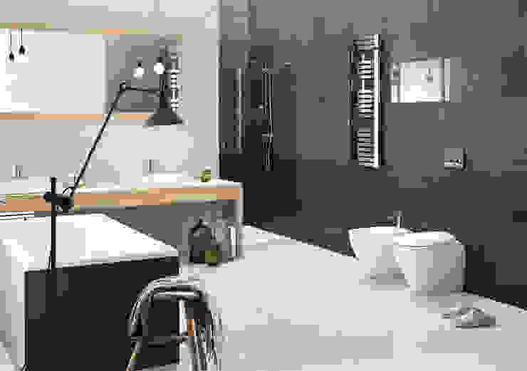 Kolekcja Doblo Minimalistyczna łazienka od Ceramika Paradyż Minimalistyczny