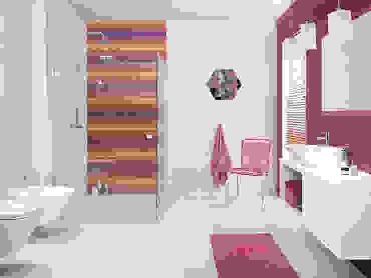 Kolekcja Briosa Eklektyczna łazienka od Ceramika Paradyż Eklektyczny