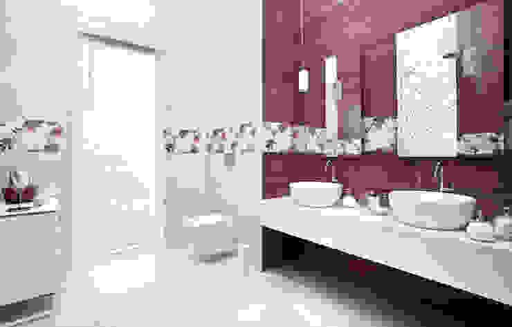 Kolekcja Luciola Nowoczesna łazienka od Ceramika Paradyż Nowoczesny