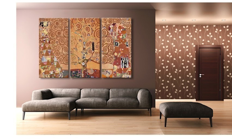 Living room by BIMAGO.it,
