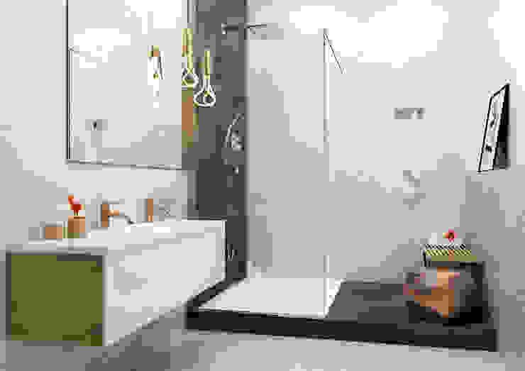 Kolekcja Emilly Eklektyczna łazienka od Ceramika Paradyż Eklektyczny