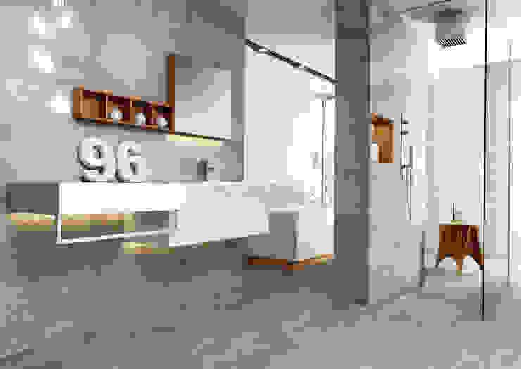 Kolekcja Tecniq Minimalistyczna łazienka od Ceramika Paradyż Minimalistyczny